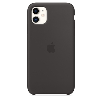 APPLE iPhone 11 Silicone Case Black (P)