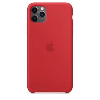 APPLE iPhone 11 Pro Max Silic.Case Red (P)