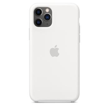 APPLE iPhone 11 Pro Silicone Case White (P)