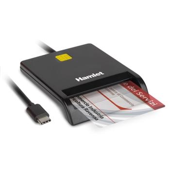 HAMLET LETTORE SMART CARD USB 3.1/C GEN.1