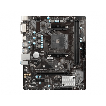 MSI A320M-A PRO MAX scheda madre Presa AM4 Micro ATX AMD A320