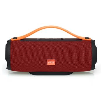 Savio BS-022 altoparlante portatile Altoparlante portatile stereo Rosso 10 W