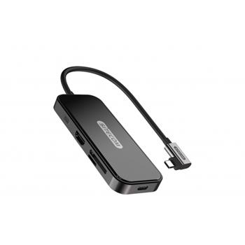 Sitecom CN-393 hub di interfaccia USB 3.1 (3.1 Gen 2) Type-C 5000 Mbit/s Nero