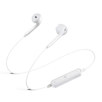 Savio WE-01 cuffia e auricolare Bluetooth Bianco