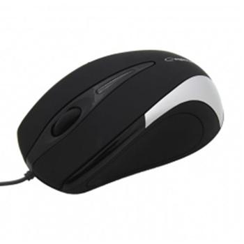 ESPERANZA EM102S SIRIUS - Wired Mouse Optical USB | 800 DPI |Srebrna| BLISTER