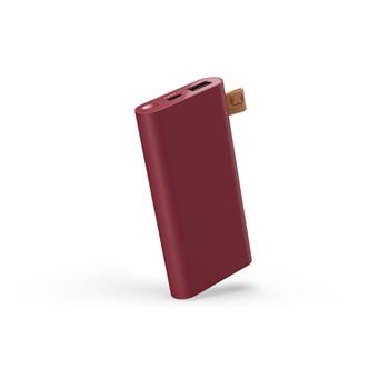 FRESH 'N REBEL POWERBANK 6000 MAH USB-C RED