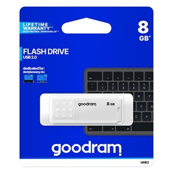 Goodram UME2 unità flash USB 8 GB USB tipo A 2.0 Bianco