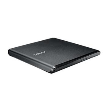 LITEON ES1 External DRW LiteOn ES1, USB, 24x, Ultra-Slim 13.5mm, ultra-light, Black