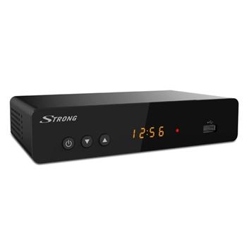 Strong SRT 8222 set-top box TV Terrestre Full HD Nero