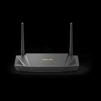 ASUS RT-AX56U router wireless Dual-band (2.4 GHz/5 GHz) Gigabit Ethernet Nero
