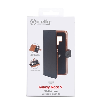 "Celly Wally custodia per cellulare 16,3 cm (6.4"") Cover Nero"