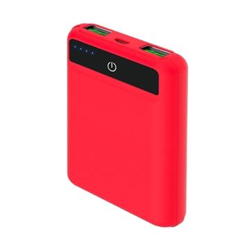 Celly PBPOCKET5000RD batteria portatile Polimeri di litio (LiPo) 5000 mAh Rosso