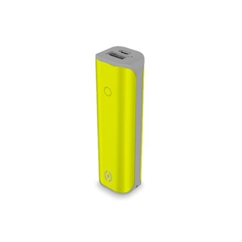 Celly PBD2200LG batteria portatile Ioni di Litio 2200 mAh Giallo
