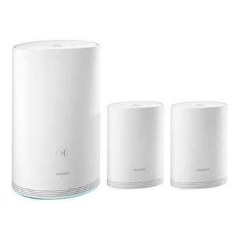 Huawei WiFi Q2 Pro (1 Base + 2 Satellite) router wireless Dual-band (2.4 GHz/5 GHz) Gigabit Ethernet Bianco