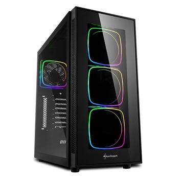Sharkoon TG6 RGB Midi ATX Tower Nero