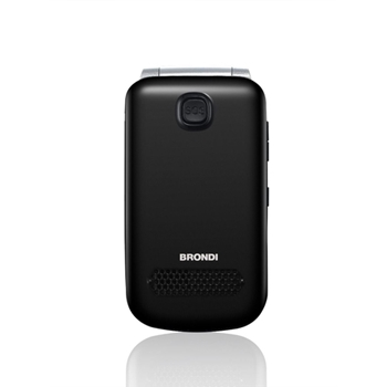 """Brondi Amico Ampli Vox 7,32 cm (2.88"""") Nero, Argento Telefono di livello base"""