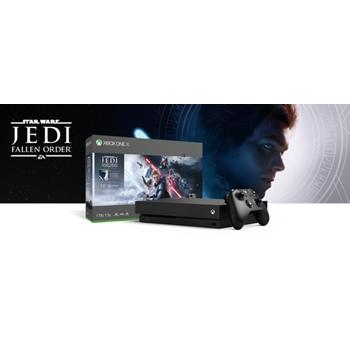 Microsoft Xbox One X 1TB + Star Wars Jedi: Fallen Order Nero 1000 GB Wi-Fi