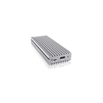 RaidSonic IB-1817MA-C31 contenitore di unità di archiviazione M.2 Alloggiamento SSD Argento