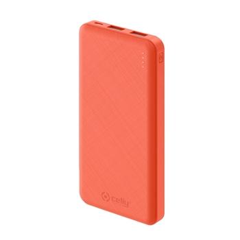 Celly PBE10000 batteria portatile Ioni di Litio 10000 mAh Arancione