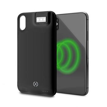 """Celly PowerCase custodia per cellulare 14,7 cm (5.8"""") Cover Nero"""