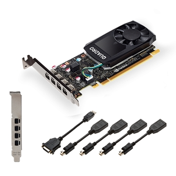 PNY VCQP620V2-PB scheda video NVIDIA Quadro P620 V2 2 GB GDDR5