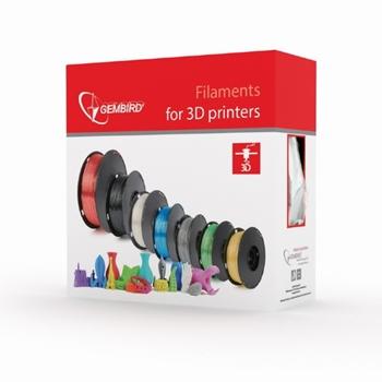 GEMBIRD 3DP-PLA1.75-02-MAR Filament Gembird PLA Marmur| 1,75mm | 1kg