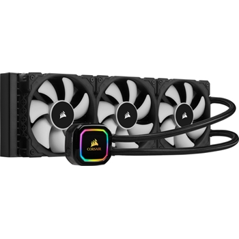 CORSAIR iCUE H150i RGB PRO XT Liquid CPU Cooler 360mm Radiator Triple 120mm PWM Fans