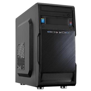 Nilox I7NX8GB9700FD i7-9700 Mini Tower Intel® Core™ i7 di nona generazione 8 GB DDR4-SDRAM 240 GB SSD Stazione di lavoro Nero