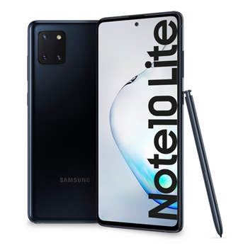 "Samsung Galaxy Note10 Lite SM-N770F/DS 17 cm (6.7"") 6 GB 128 GB Doppia SIM 4G USB tipo-C Nero Android 10.0 4500 mAh"