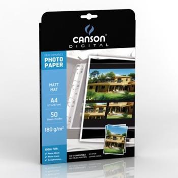 CANSON CF50FF PERFORMANCE MATT A4 180G