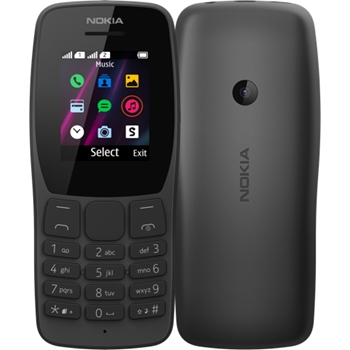 """Nokia 110 4,5 cm (1.77"""") Nero Telefono cellulare basico"""
