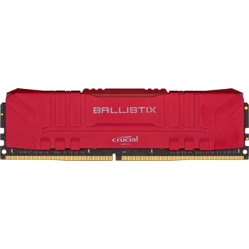DDR4 16GB KIT 2x8GB PC 3200 Crucial Ballistix BL2K8G32C16U4R red