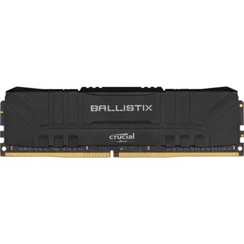 DDR4 16GB KIT 2x8GB PC 3000 Crucial Ballistix BL2K8G30C15U4B Black