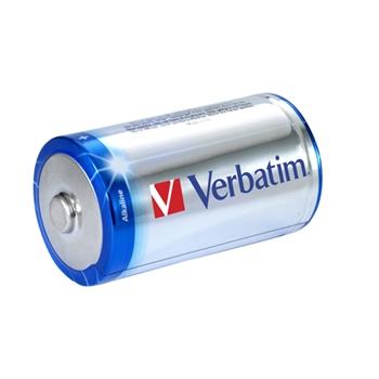 Verbatim Batterie alcaline D