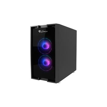 NATEC Genesis PC case Irid 353 aRGB micro Tower