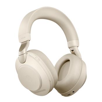 Jabra Evolve2 85, UC Stereo Cuffia Padiglione auricolare Beige
