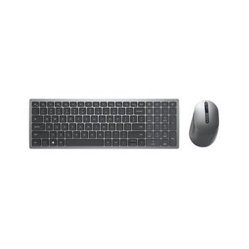 DELL KM7120W tastiera RF senza fili + Bluetooth QWERTY Italiano Grigio, Titanio