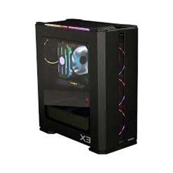 Zalman X3 BLACK computer case Midi ATX Tower Nero