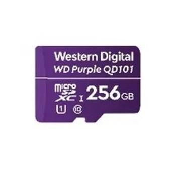 WESTERN DIGITAL MICROSD WD PURPLE 256GB CLAS 10