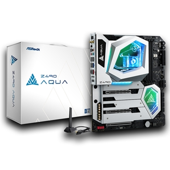 Asrock Z490 Aqua Intel Z490 ATX esteso