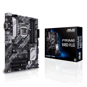 ASUS MB 1200 10°GEN. B460-PLUS 4xDDR4 6xSATA M.2 USB 3.2 VGA/DVI/HDMI