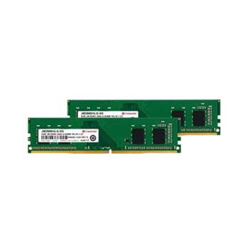 TRANSCEND 16GB KIT JM DDR4 2666Mhz U-DIMM 1Rx16 1Gx16 CL19 1.2V