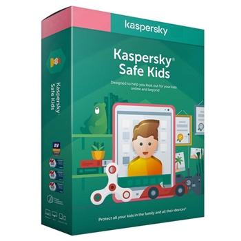 Kaspersky Lab Safe Kids ITA Licenza completa 1 licenza/e 1 anno/i