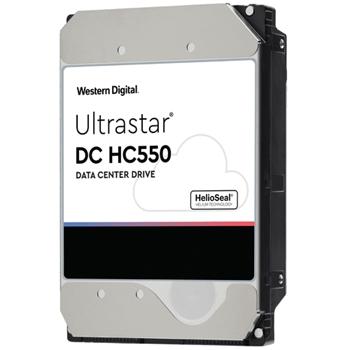 Western Digital HDD WD Ultrastar DC HC550 WUH721816ALE6L4 - Festplatte - 16 TB - intern - 3.5 (8.9 cm)