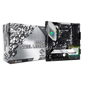 Asrock B550M Steel Legend AMD B550 Presa AM4 micro ATX