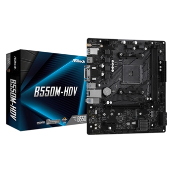 Asrock B550M-HDV Presa AM4 micro ATX AMD B550