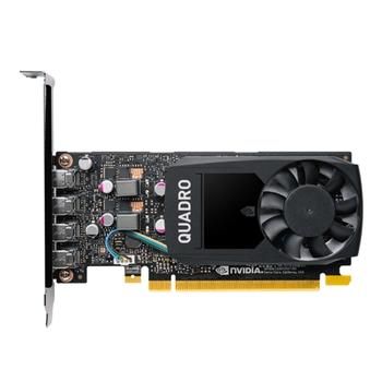 PNY VCQP1000V2-SB scheda video NVIDIA Quadro P1000 V2 4 GB GDDR5