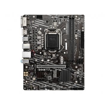 MSI H410M-A PRO Socket 10th gen Intel 1200 mATX MB 2x DDR4 up to 2933 MHz 4x SATA 6Gb/s 1x M.2 4x USB 3.2