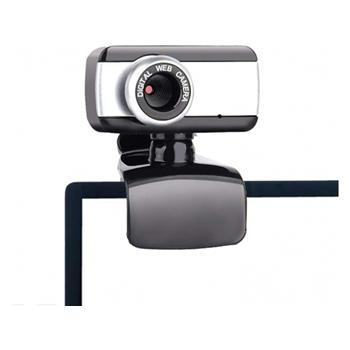 ENCORE EN-WB-183 webcam 0,3 MP 640 x 480 Pixel USB 2.0 Nero, Argento