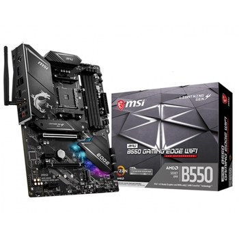 MSI MPG B550 Gaming Edge WiFi Presa AM4 ATX AMD B550
